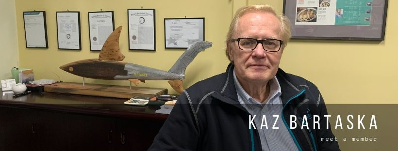 Meet a member – Kaz Bartaska