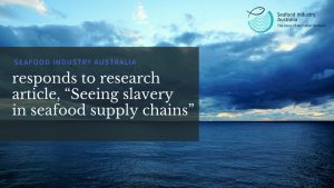 "SIA responds to research article, ""Seeing slavery in seafood supply chains"""