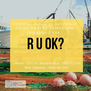 Fishers urged to ask – R U OK?