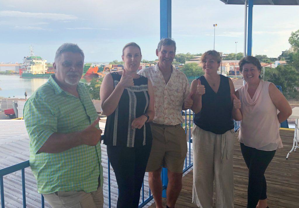 Seafood Industry Australia's 'Our Pledge' workshop  makes a splash in Darwin