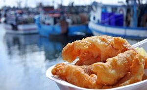 'Don't worry yourself sick': Peak-body refutes fish and chip flu jab