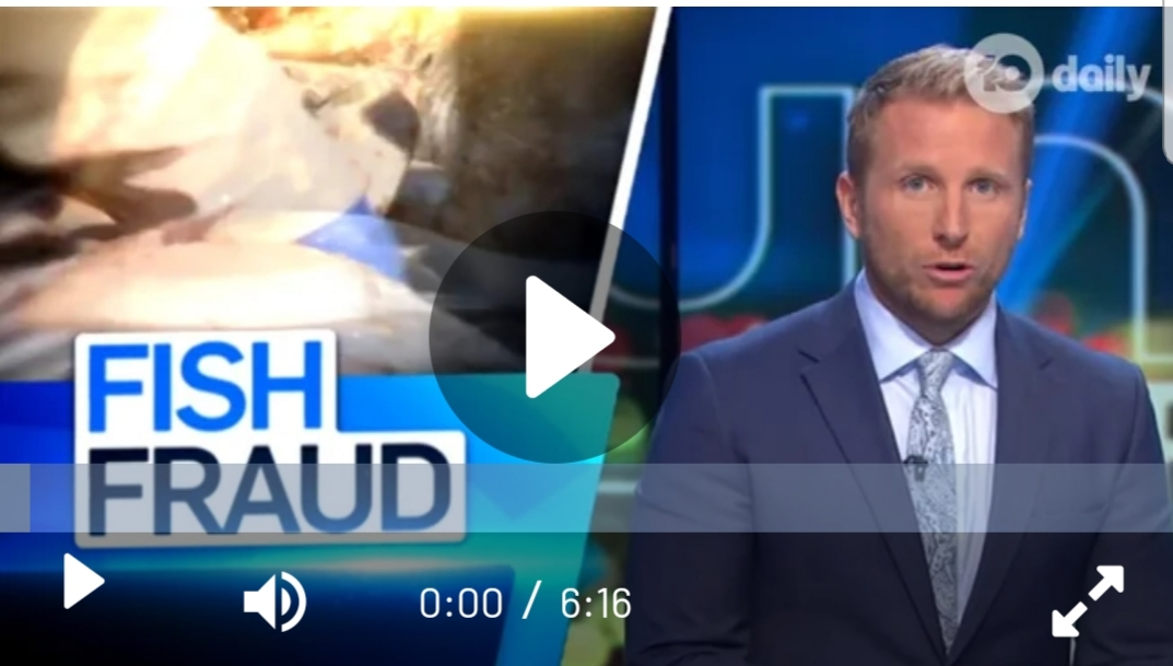 Watch The Sunday Project's 'Fish Fraud' story