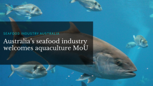 Australia's seafood industry welcomes aquaculture MoU